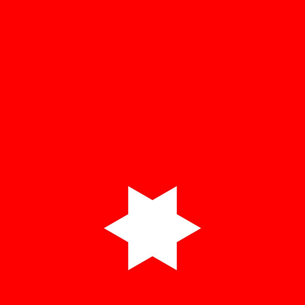 Flagge Mit Stern